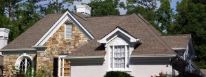 sky tech construction roofing project