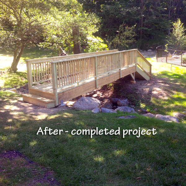 Outdoor building project – Ringwood, NJ 07456