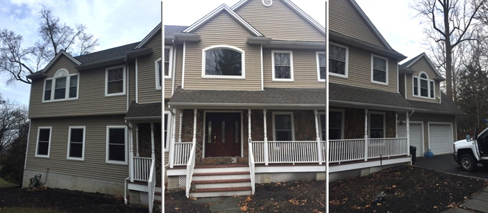 Siding project provides face lift to home in Wayne, NJ