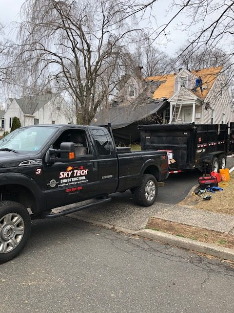 New roof project, Midland Park, NJ 07432