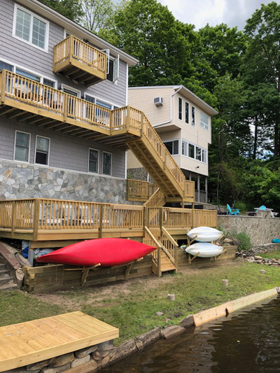 Deck replacement project – Hewitt, 07421, NJ